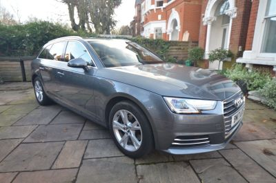 Audi A4 2.0T FSI Sport 5dr S Tronic Estate Petrol Grey at Rupert Goalen London